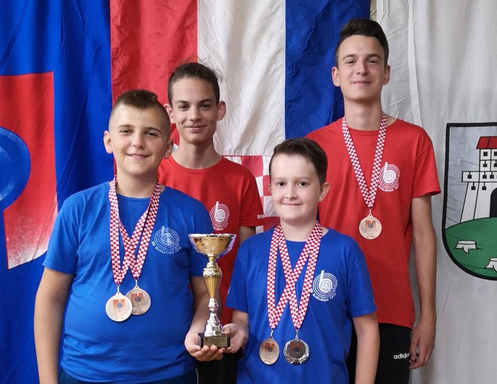 Prvenstvo Hrvatske serijskim malokalibarskim oružjem za juniore